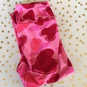 Lularoe heart one size fits all leggings